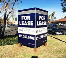 For Lease & Real Estate Signs
